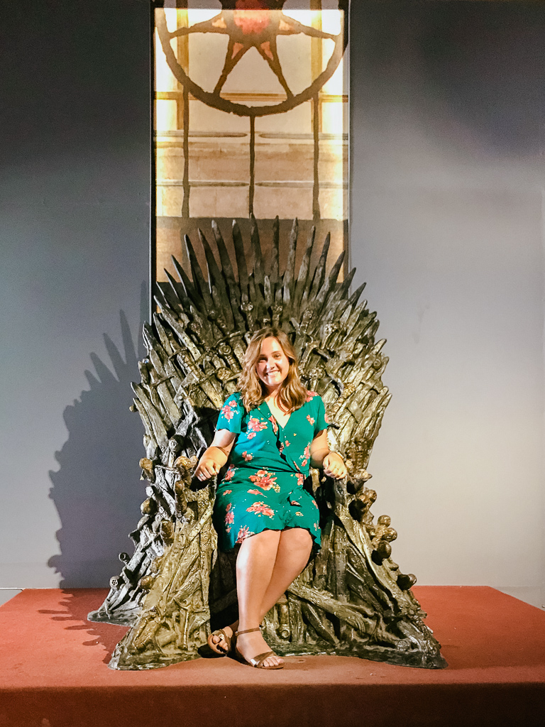 LOL it's me, your queen, on the Iron Throne (at Lokrum Island)