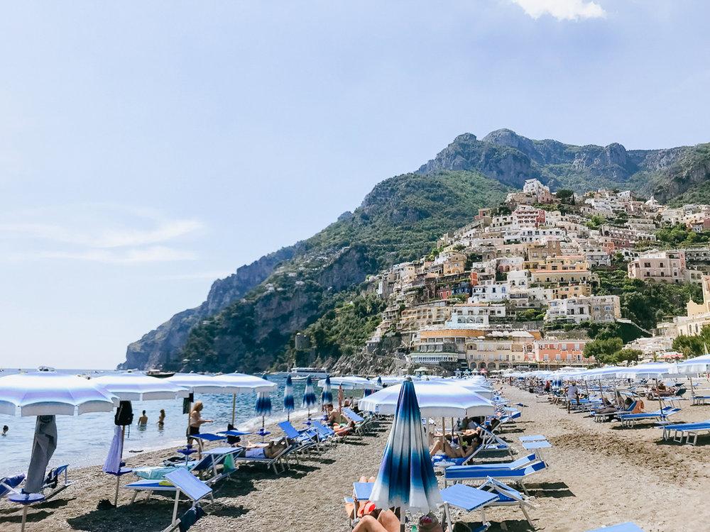 Adventuring around Positano on the Amalfi Coast