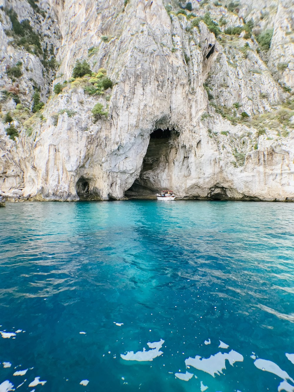 Capri Island Amalfi Coast Boat Tour Grotto Europe Travel