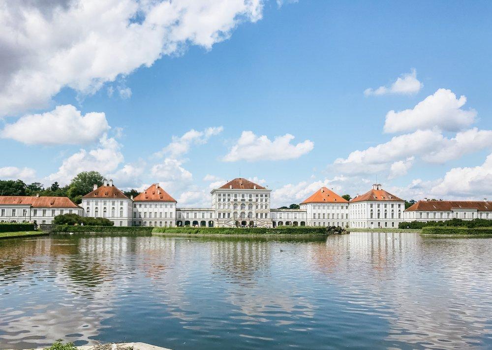 Munich Germany Palace Europe Travel
