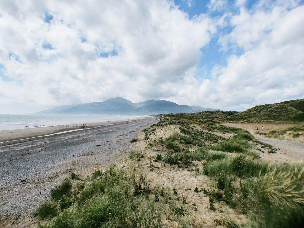 Northern Ireland Murlough Nature Reserve Atlantic Ocean