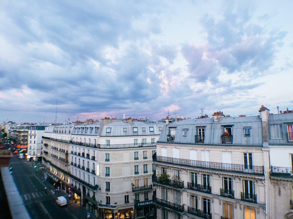 paris france rooftop