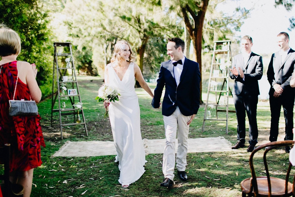 Image of Laura and Luke by Aimee Claire, represented by Yeah! Weddings.