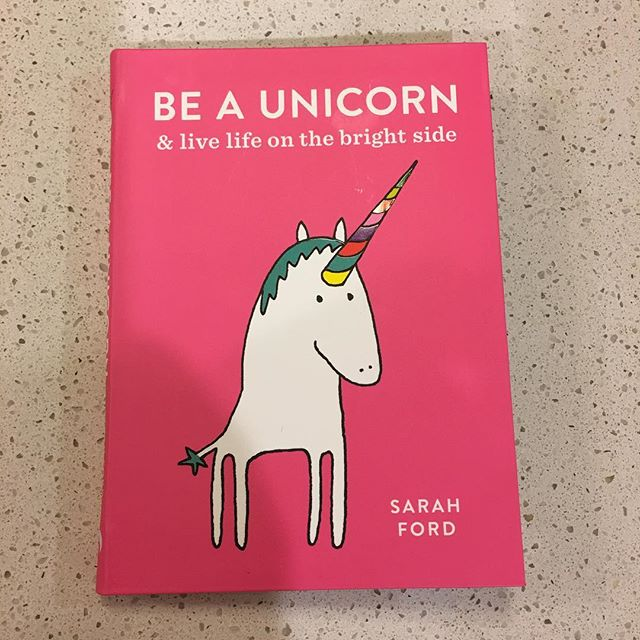 New purchase. Everyone should have a little bit of unicorn in their lives. 'When stressed, Unicorn put on loud music and made a warming casserole'. You go, girl 💕🦄