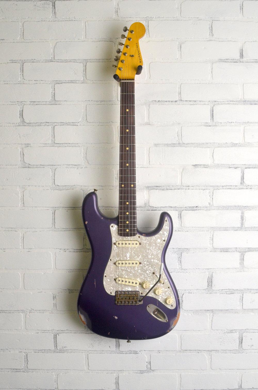 Purple Metallic  3-Ply Pearl Guard  Medium Aging