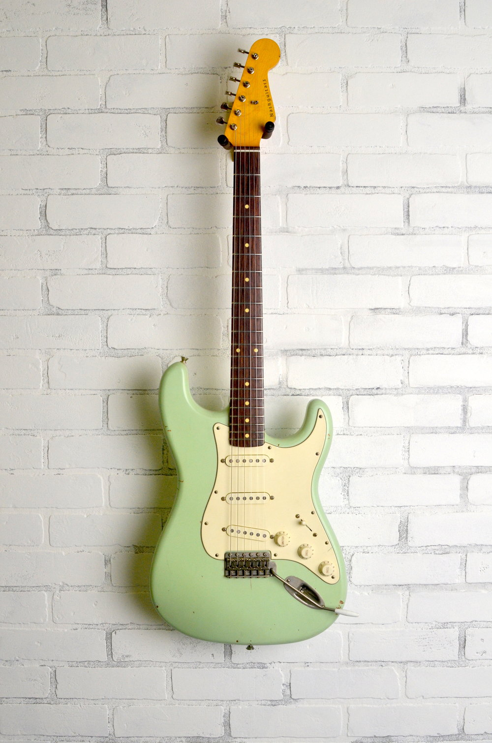 Surf Green  3-ply Mint Guard  Light Aging