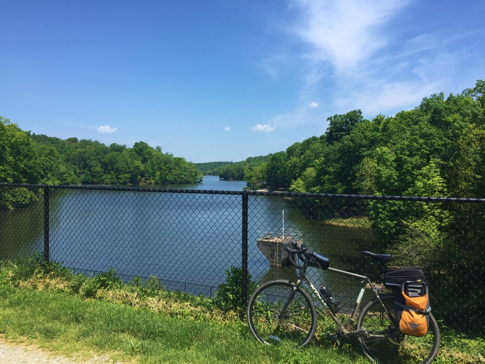 Northern end of the trail,Needwood Lake