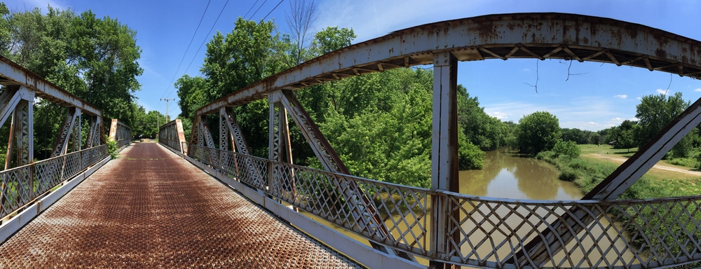 Crystal Springs Bridge Park. This bridge was built in 1914 and is no longer open to traffic.