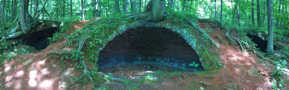 Coke ovens from the early 1900's