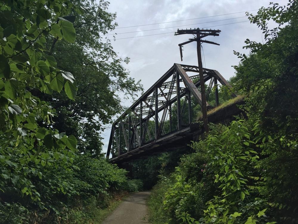bridge over mahoning shadow trail