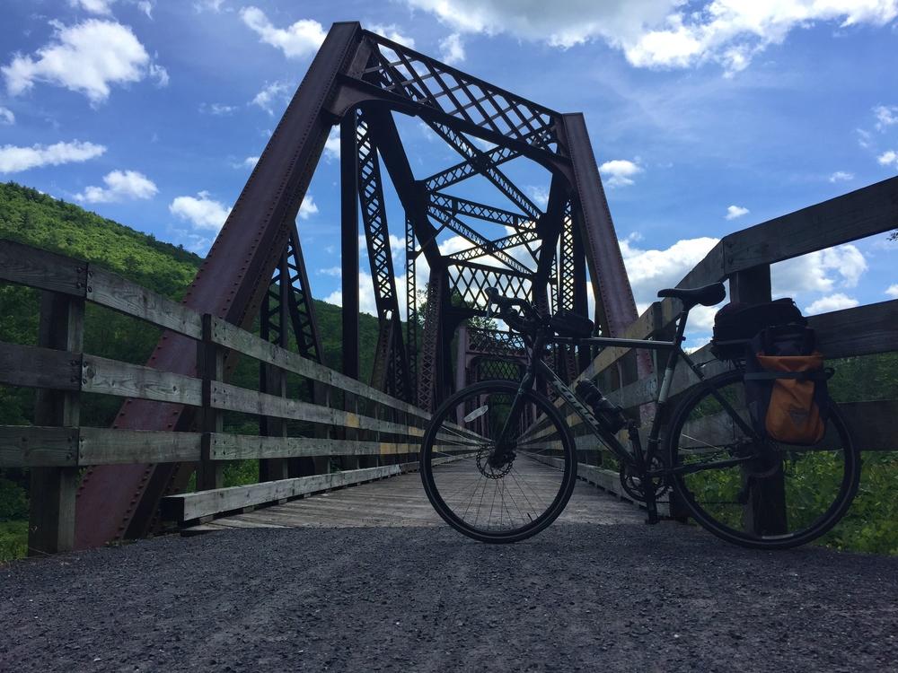 Railroad bridge near Cedar Run