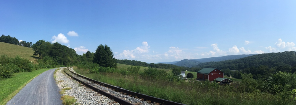 Helmstetter's Curve on the Western Maryland Scenic Railroad