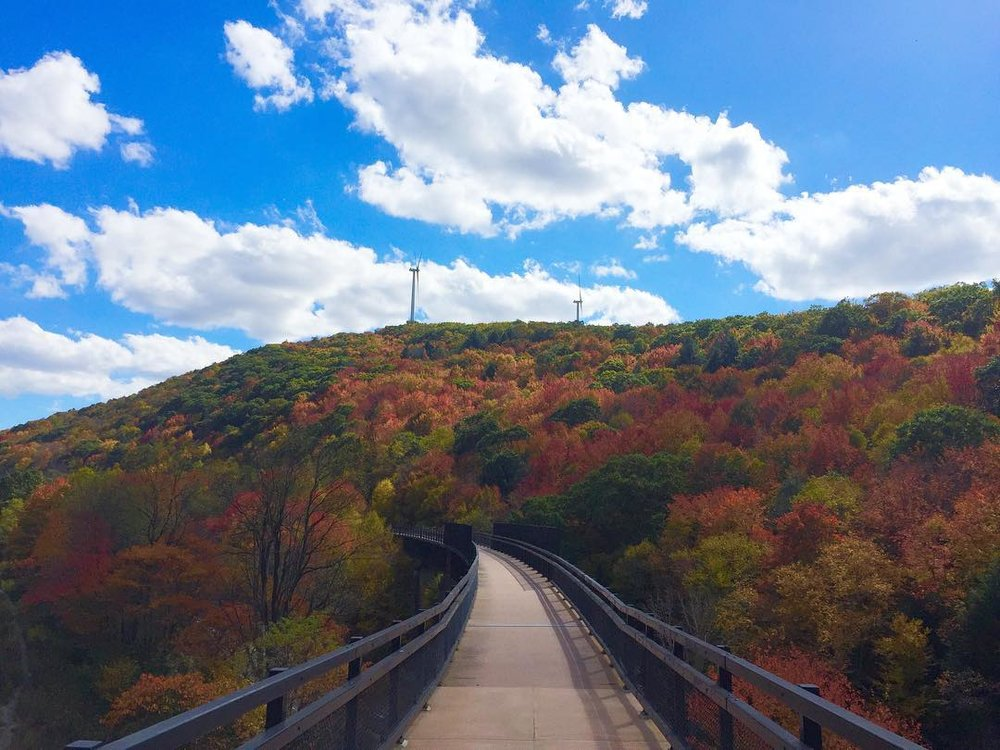 Great day to be on the #greatalleghenypassage #fruitypebbles