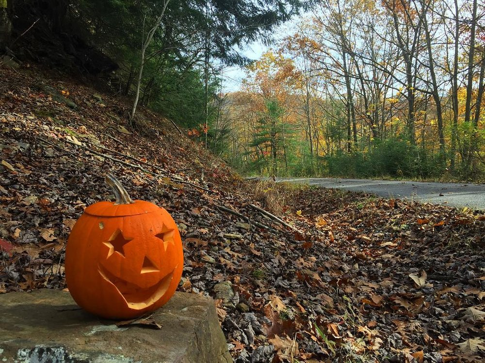 #jackolantern on the #RedbankValleyTrail