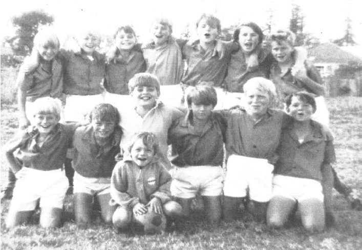 HIGH ON LIFE! Sans Souci 11Bs Team 1971 Dean Bownes Bruce Johnston Chris Watt Jamie Doyle Russell Meers Phillip Davis Doug Reed Greg Jenkyns Craig Jones Brett Quayle David Coote Glen Bryant Ron Pilgrim Ball Boy - Jones