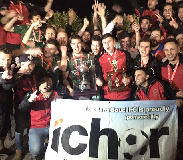 Champions! #SSFC #SansSouciFC #GoSouci #SansSouci