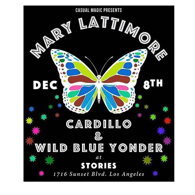 If you are in the LA area TOMORROW, go check out one of @wildblueyondering first shows in prep for the upcoming VIDEO and CASSETTE release!!!!!! 👅👅🍦✌🏼🔥😞😁💚