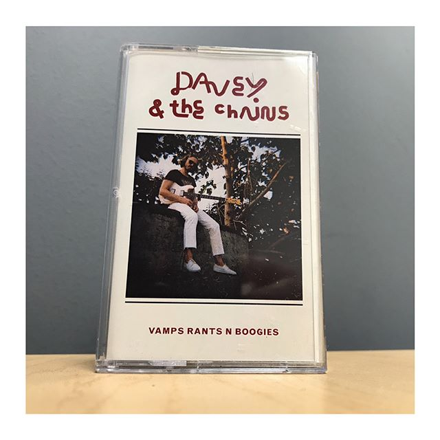 These new @daveyandthechains tapes are off the chains. Available very soon, but not yet! #newmusic