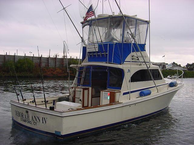 Deborah ann iv fishing charters for Charter fishing boats long island
