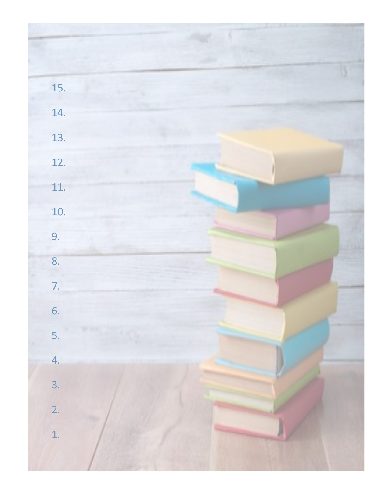 big book pile up printable 1a