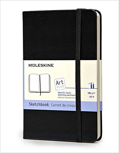 Moleskine Sketchbook:  A blank book is so full of possibilities!  Art sketches, engineering ideas, writing, there's wrong way to fill a moleskine!  Add in some Prismacolors and your teen has the tools to share the amazing things they create in their minds!