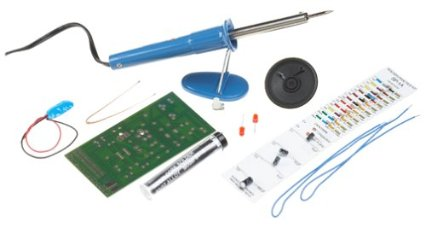 Elenco Learn to Solder Kit : Many electronics' projects involve soldering and this kit is the perfect place to start.  Pair it with the Make: Electronics book and your teen will gain valuable knowledge and skills with electronics.