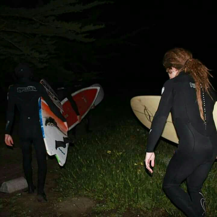 """""""Maybe attempting to surf the unsurfable, just because its there."""""""