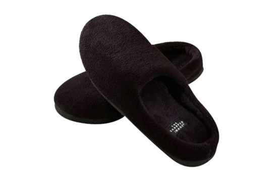 Temperature Regulating Slippers, $49.99,  www.sharperimage.com