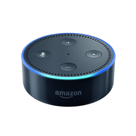 Amazon Echo Dot, $39.99,  www.amazon.com