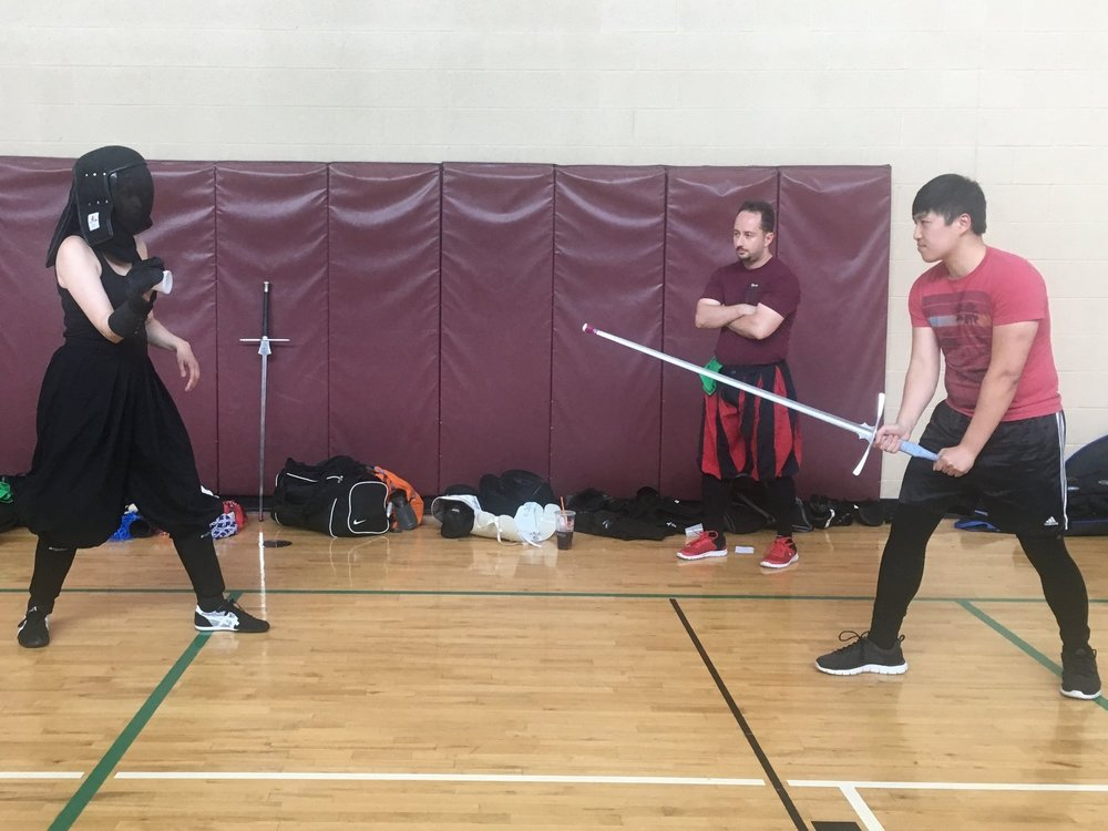 Longsword at the Mid-Atlantic Rookie Tournament