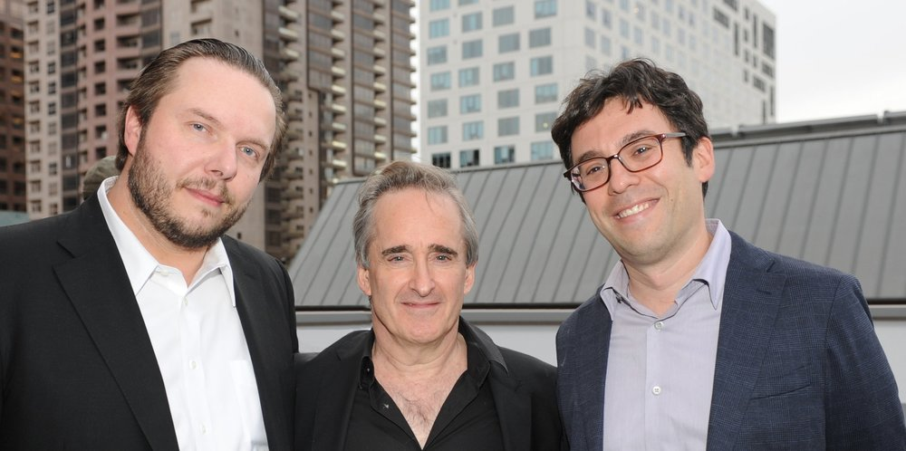 with Maestro James Conlon and the distinguished writer Jeremy Eichler at the Ziering-Conlon Recovered Voices symposium, where we were all presenting.