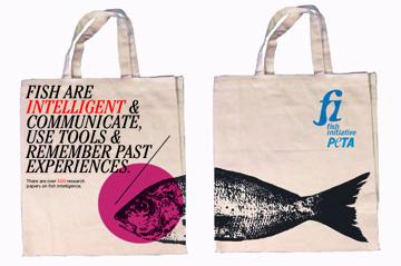 PETA tote bags (series)