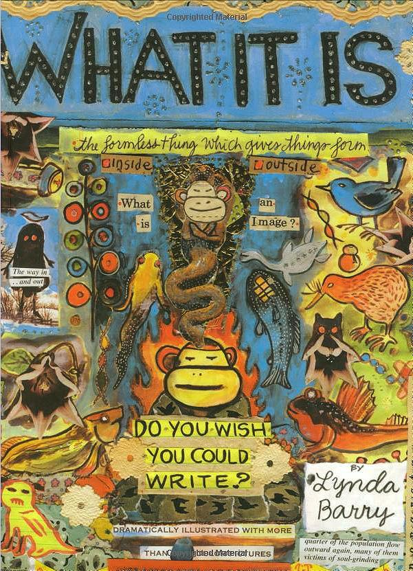 One of Lynda Barry's lovely books