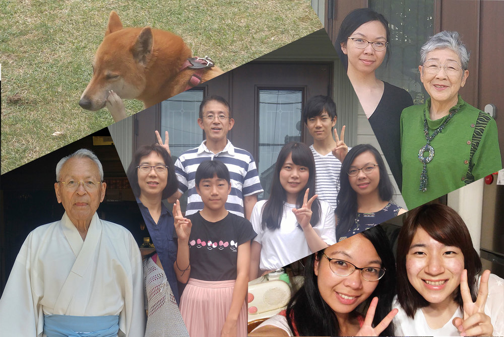 Host Family Collage