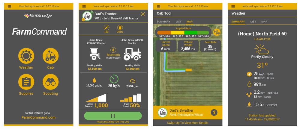 Farmers Edge | Farm Command Mobile App