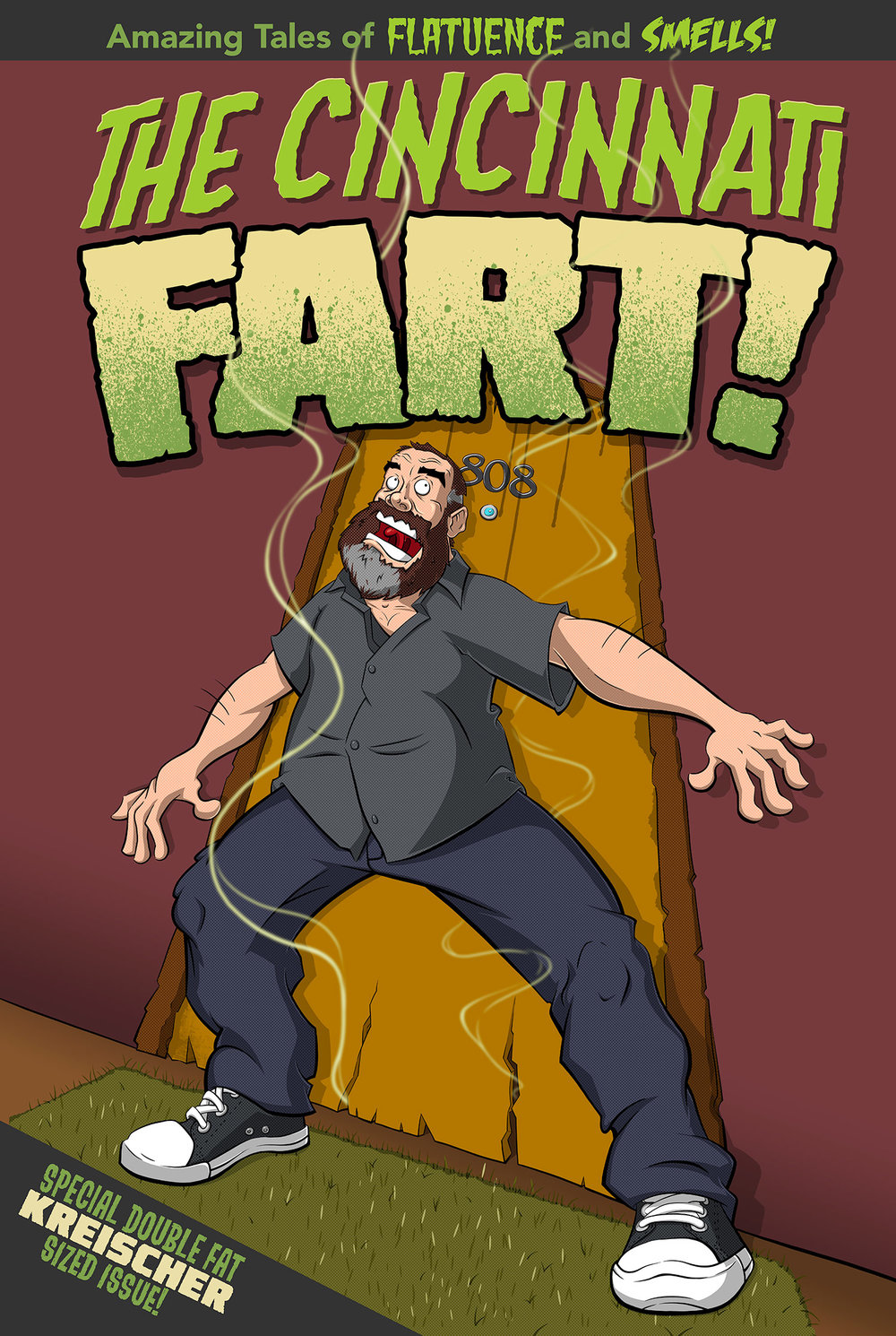 Comedians Poster Series:  Tom Segura and a Famous Fart