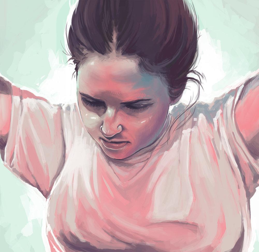 """""""Kelli"""" by Teresa Cantu"""