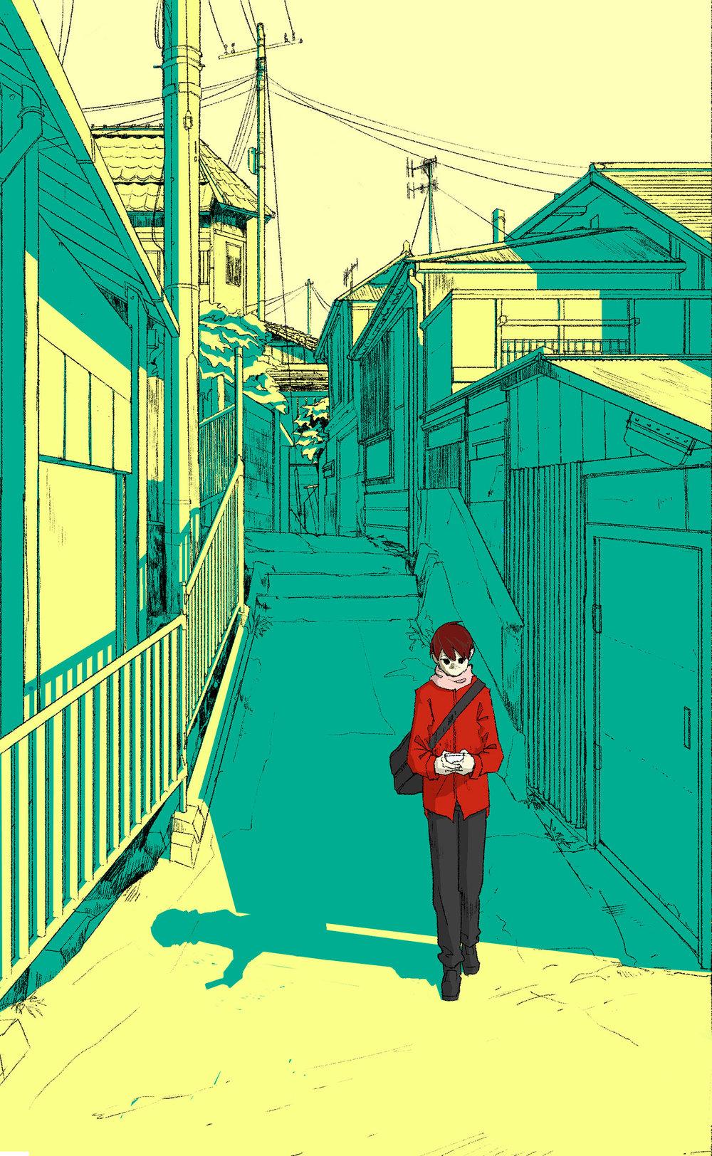 """Walk"" by Isaac Mak"