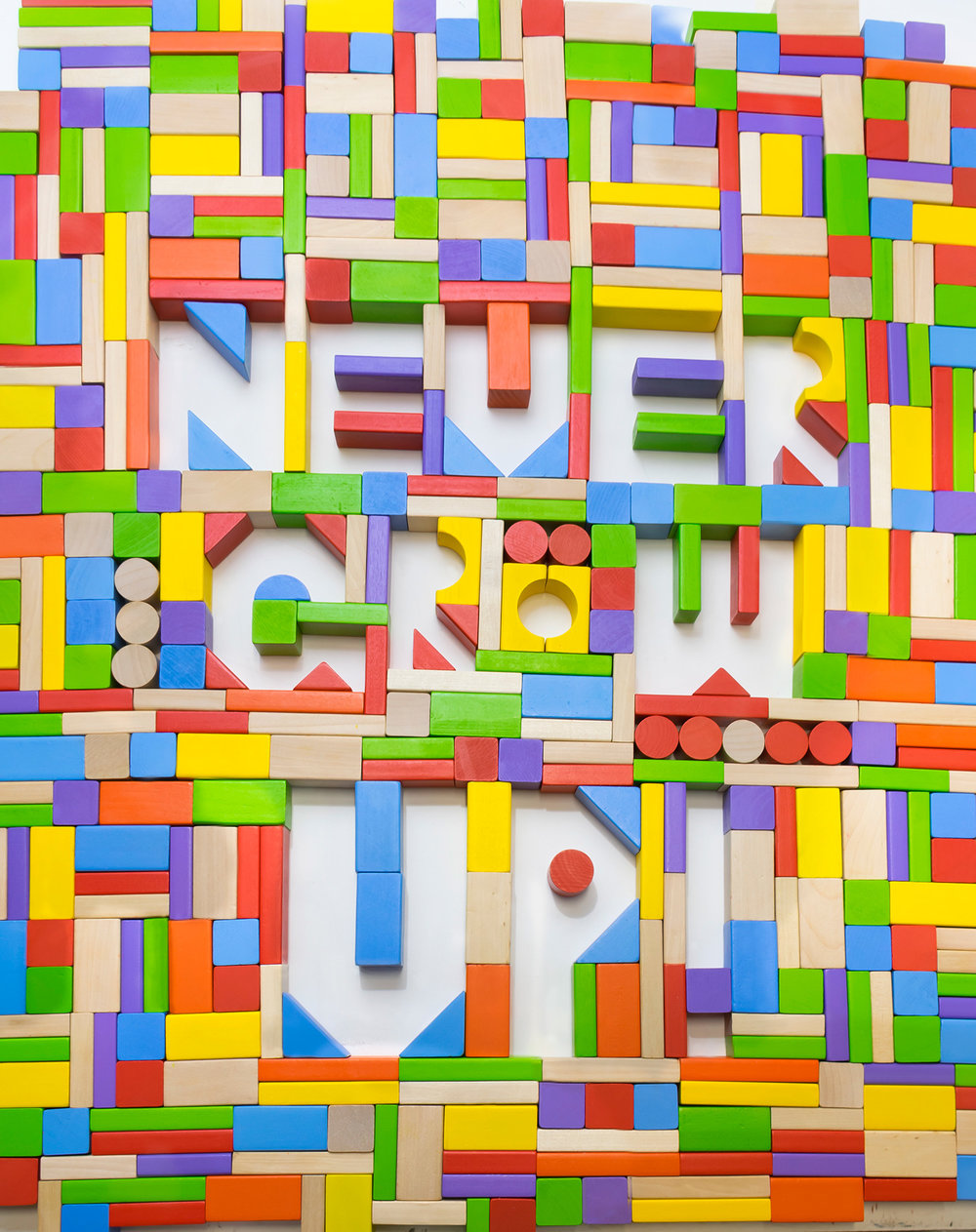 """Never Grow Up"" by Courtney Lamb"