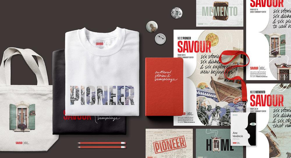 Savour: A Speaker Series (Capstone Project)