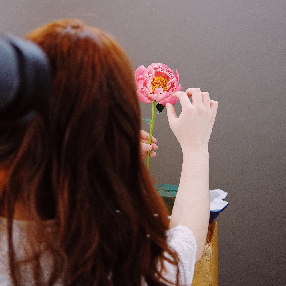 Alice Zeng in studio. Photo Credit: If