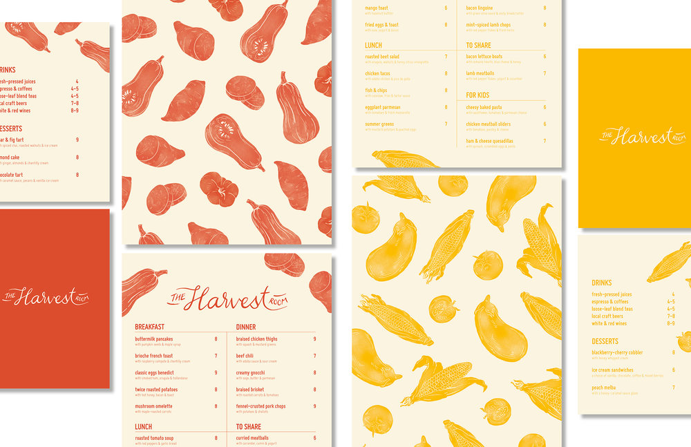 Ashley Loo for The Harvest Room Graphic Design Merit