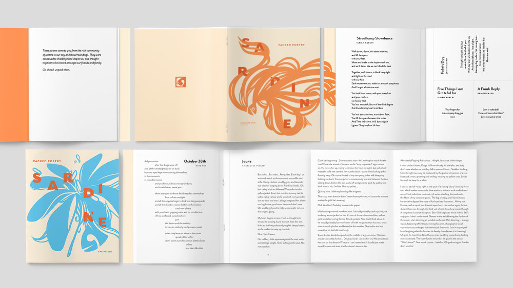 Pamella Pinard for Packed Poetry Editorial & Book Design Merit