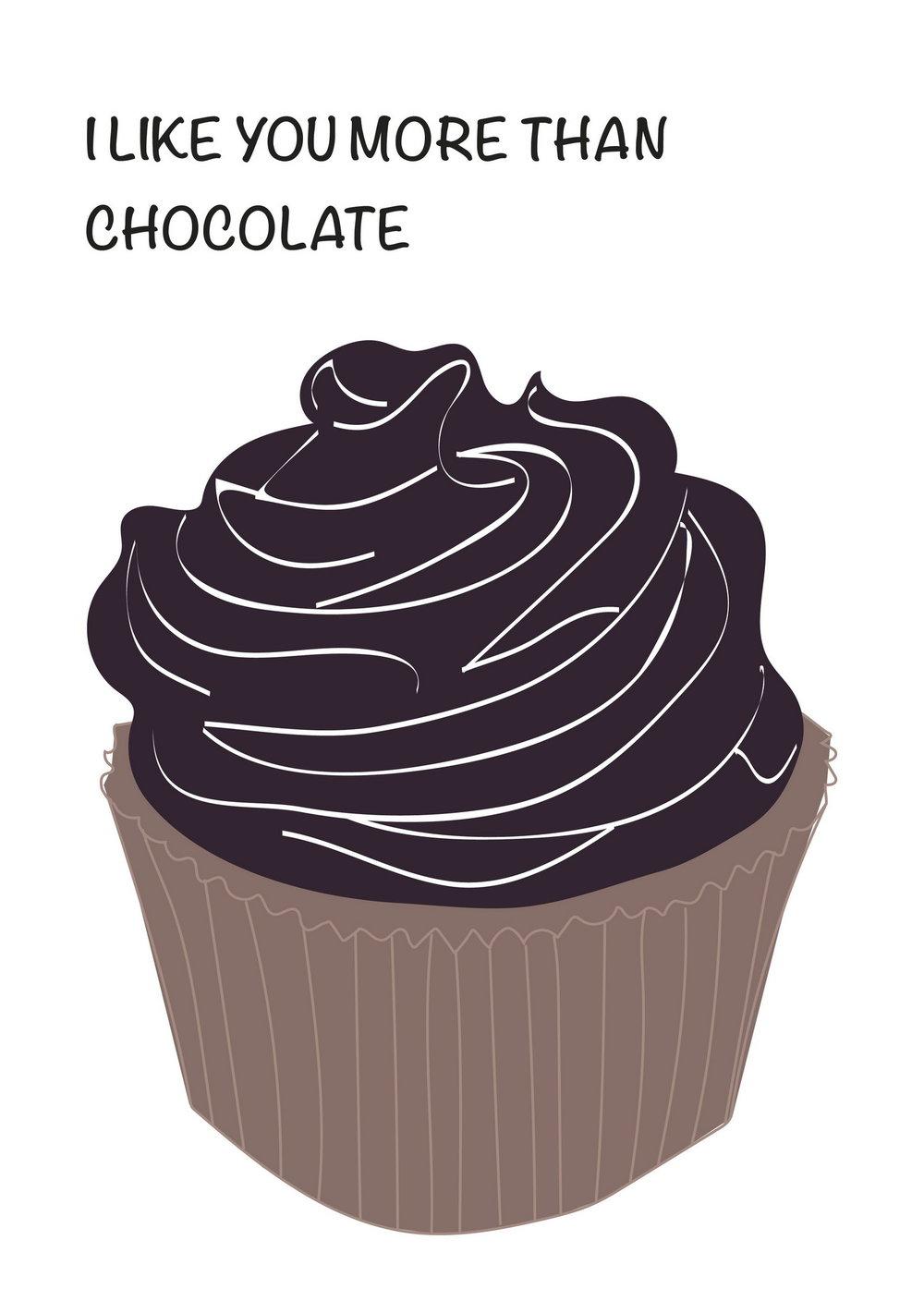 I Like You More Than Chocolate