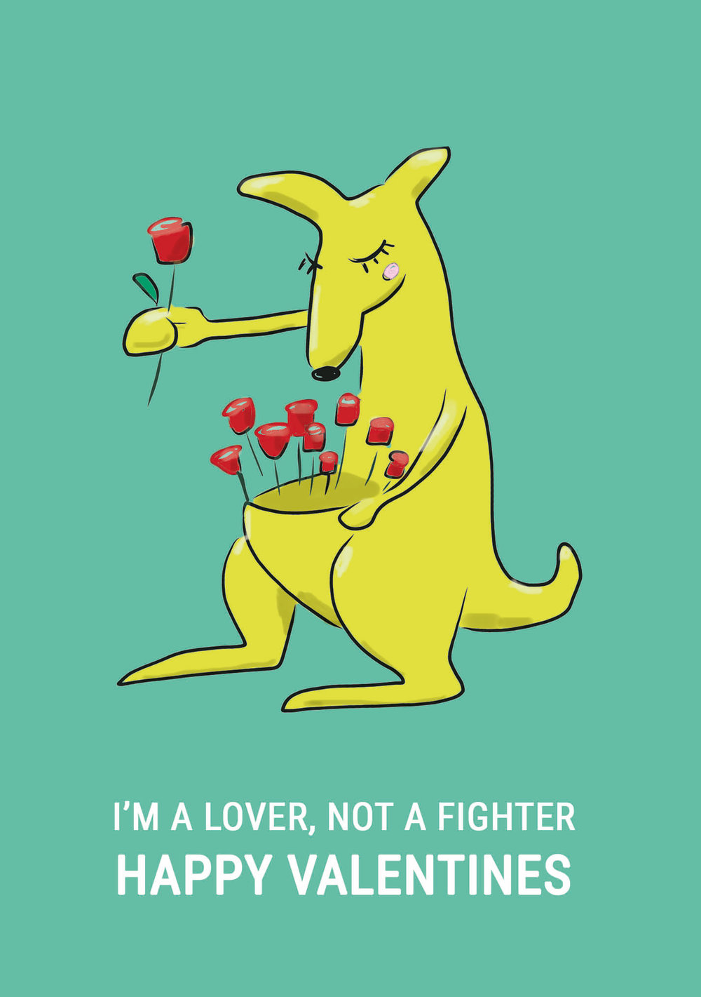 I'm A Lover Not A Fighter: Happy Valentines
