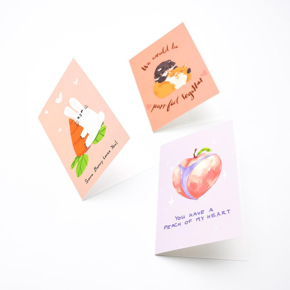 Bunny Love, Purr-fect and Peach Bum