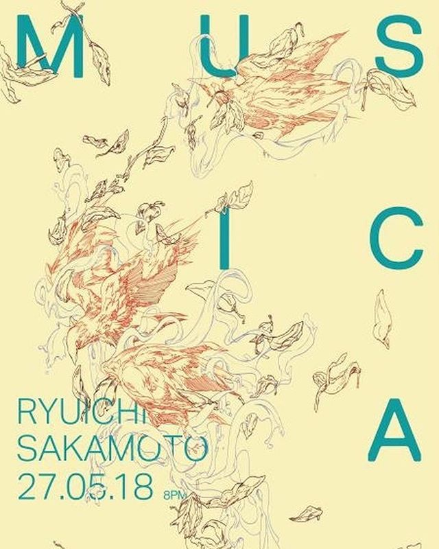 There aren't words for how beautiful this poster series is by @poittte for a mock music festival called musica. Thought I'd grace your day with a sneak peek.  #tgif #graphicdesign #illustration #art #design #typography #posterdesign #branding #musicfestival #capilanouniversity
