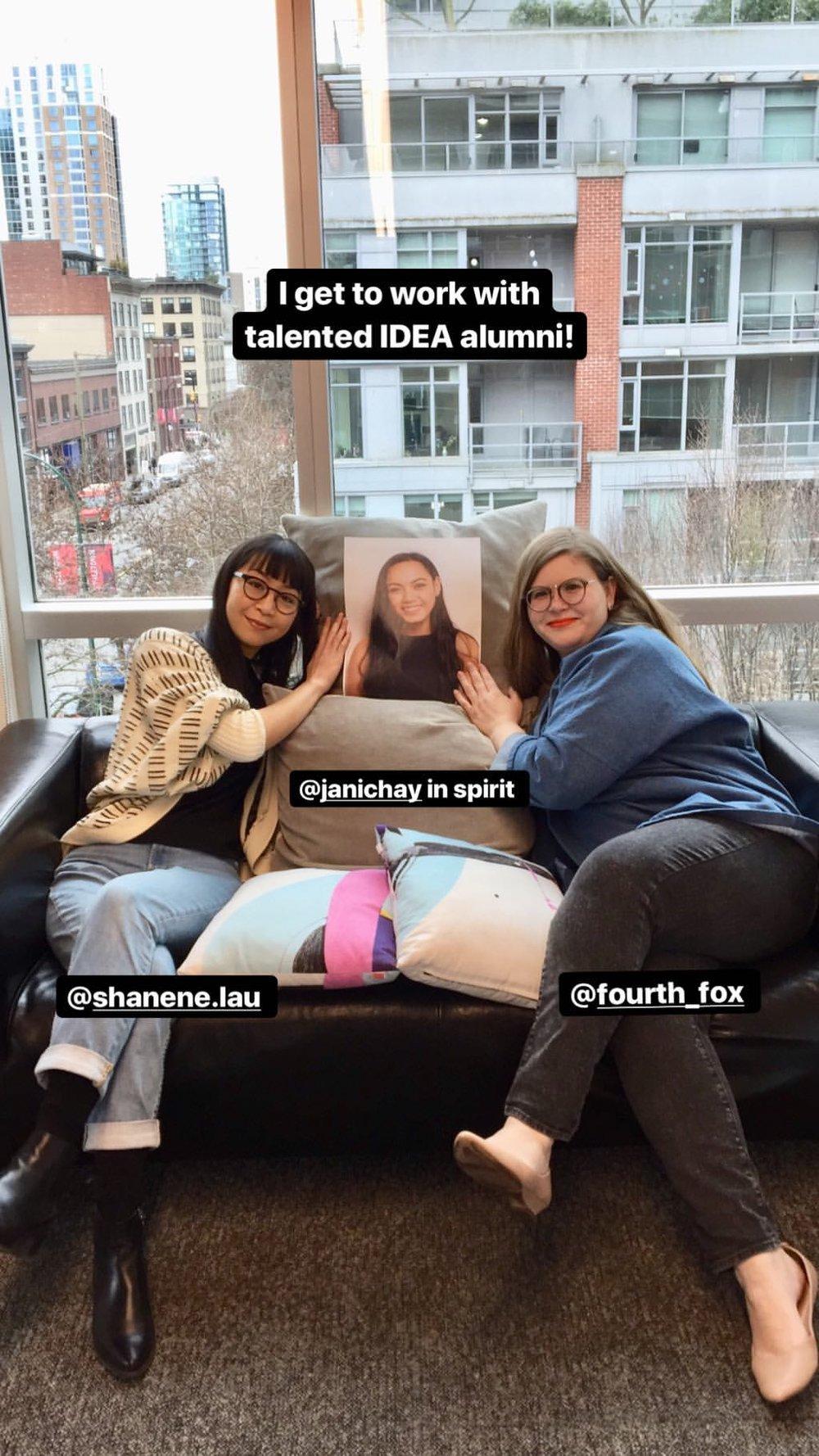 IDEA Alumni at Cossette