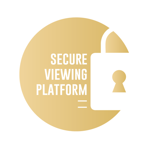 Personal + secure viewing platform.