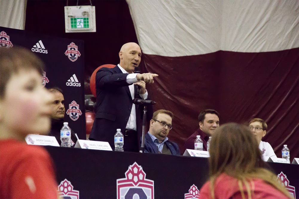 Bill Manning, TFC President in Ottawa with OTFC.    OTFC Soccer, Ottawa Soccer, Ontario Soccer, MLS Soccer Ottawa, MLS Soccer, Toronto FC, Toronto FC News, Toronto Soccer, Ottawa Soccer Club, Cumberland Soccer, Ontario Soccer Club, Soccer club Ottawa, Highlight Reel Soccer, Soccer Recruitment, Soccer Video Services, Canadian Soccer Services, Soccer Game Footage Services, New Ottawa Soccer, Canadian Soccer, Professional Soccer Ottawa, Soccer Video Ottawa, Ottawa TFC Soccer Club